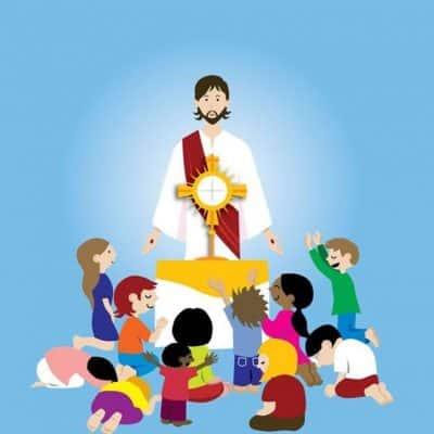 Venez à la messe avec vos enfants – Jardin biblique