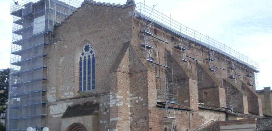 La vie des églises de Gaillac pendant la période estivale
